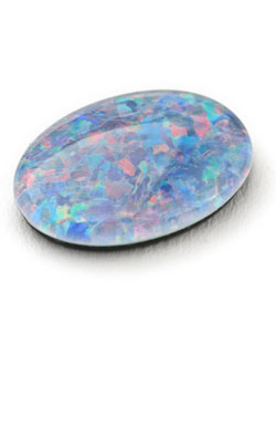Opal Cabochon to represent the 34th year anniversary symbol