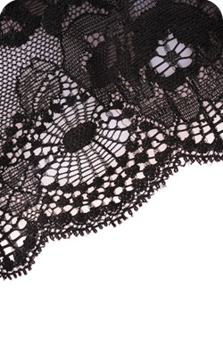 Lace garment to represent the 39th anniversary modern theme