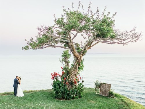 Villa della Famiglia Oceanfront Wedding by Ann Johnson Events Santa Barbara