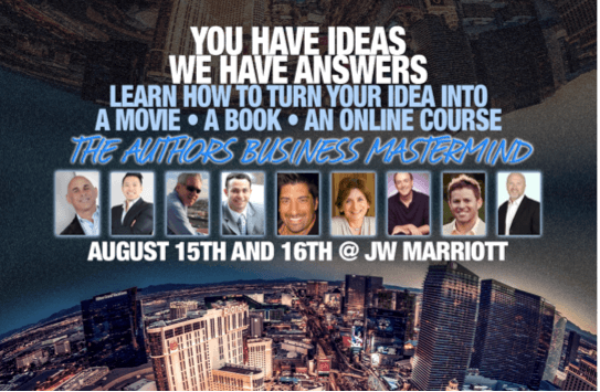 You Still Have Time to Register for The Author's Business Mastermind in Las Vegas!