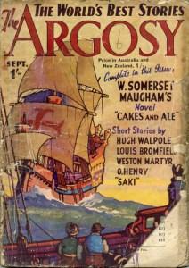Cover of The Argosy magazine 1937 edition