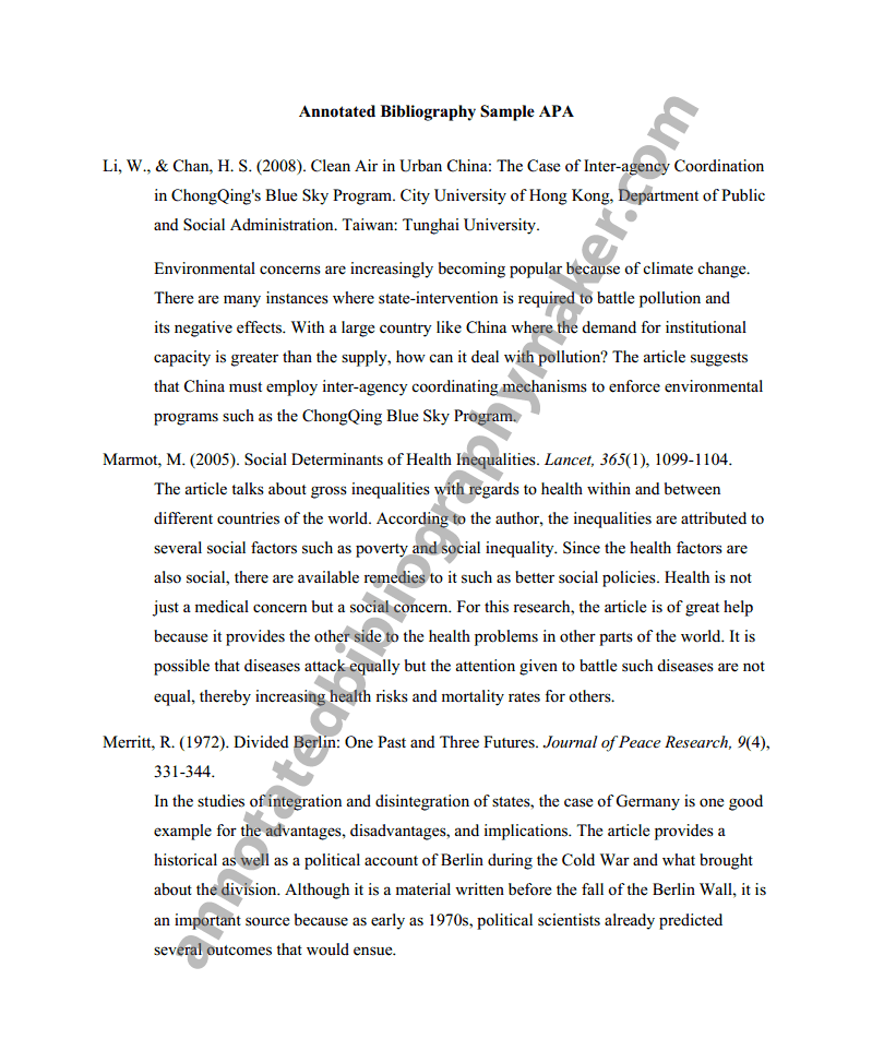 citation bibliography apa