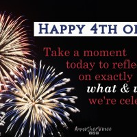On this Independence Day, it's important to think about what and why we're celebrating.