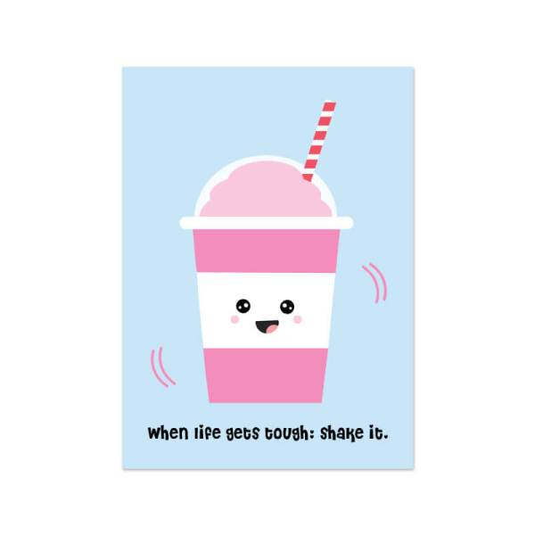 Kaartje milkshake