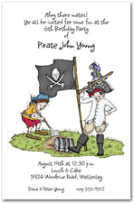 pirate party invitations kid s pirate