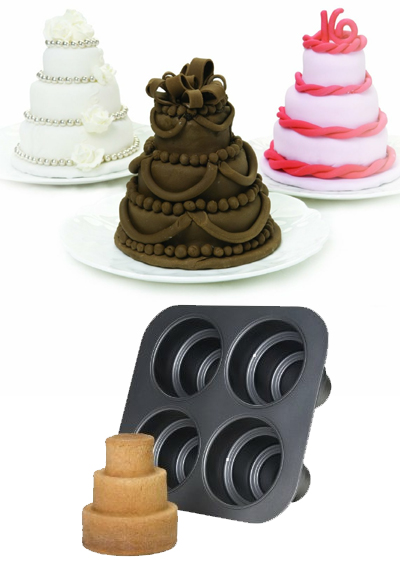 Multi Tier Mini Cakes For Party Treats