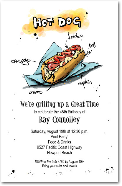 Party Invitations Order