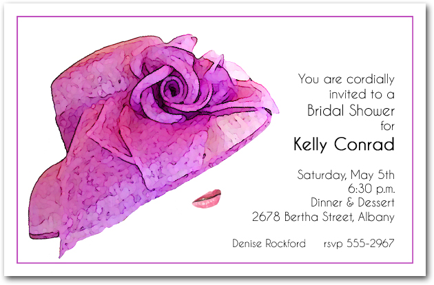 Baby Shower Invitations Tea Party