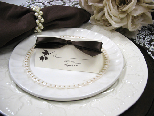 Ideas For Diy Wedding Place Cards