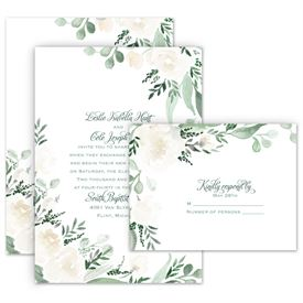 Wedding Invitation Sets Free Response