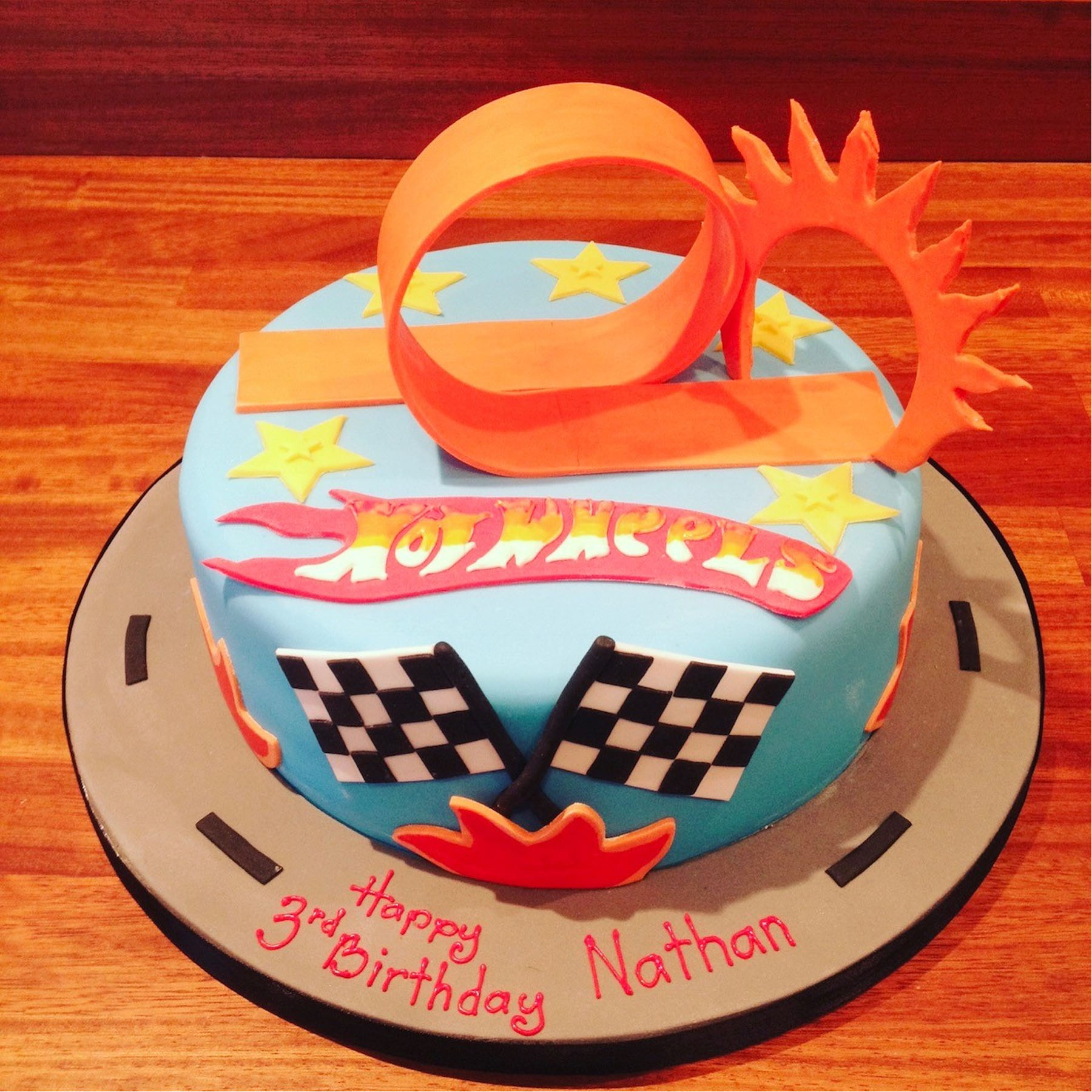 Fine Hot Wheels Birthday Cake Anns Designer Cakes Funny Birthday Cards Online Chimdamsfinfo