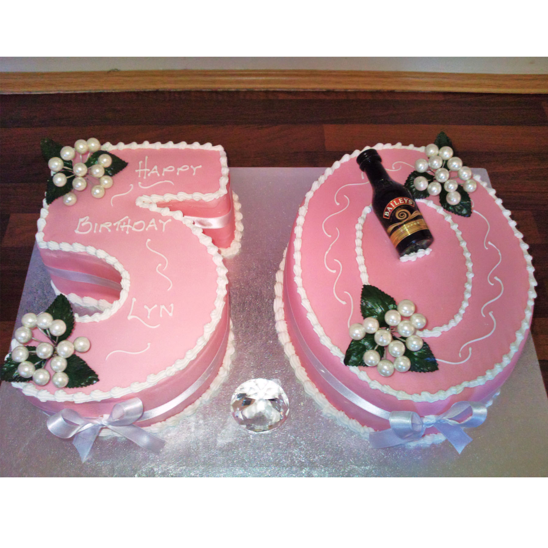 50th Birthday Cake Anns Designer Cakes