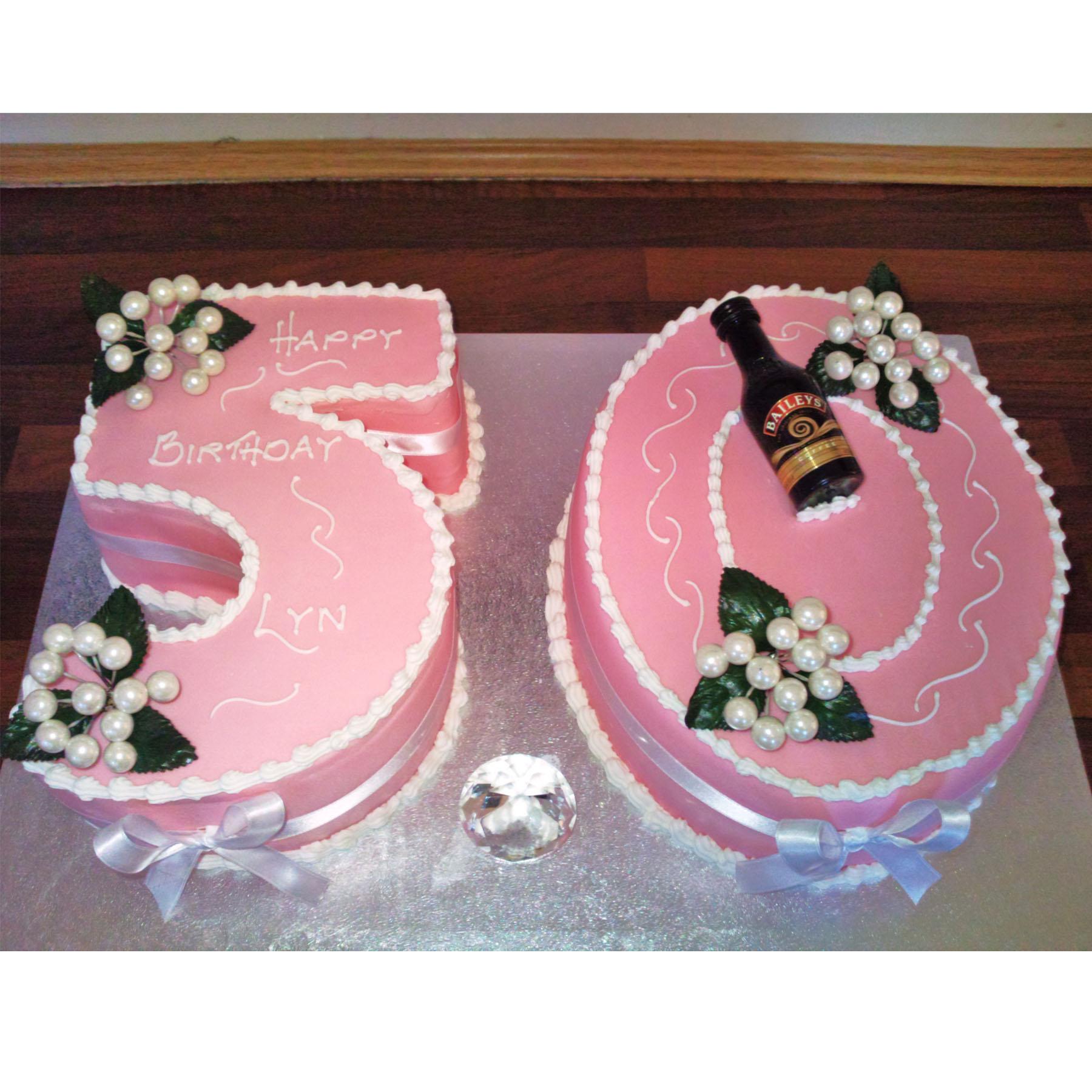 50th Birthday Cake Anns Designer Cakes