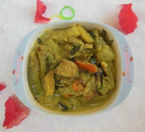 Mango Aviyal / Mangai Aviyal