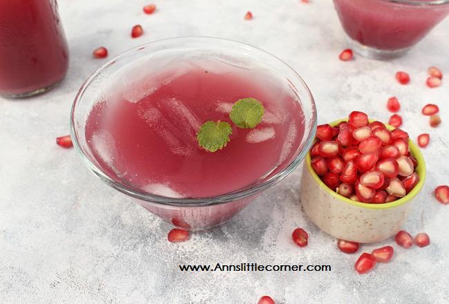 Pomegranate Mint Juice