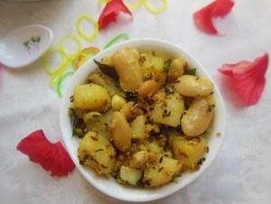 Potato Mochai Stir Fry