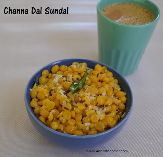 Channa Dal Sundal