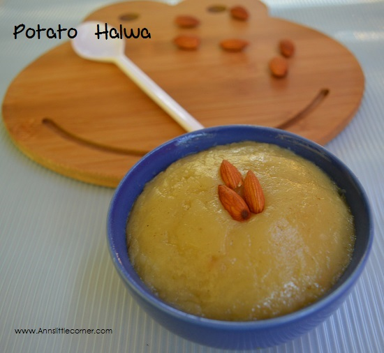 Potato Halwa