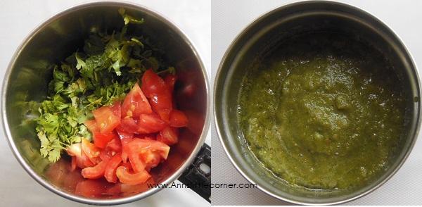 Coriander Chicken Curry