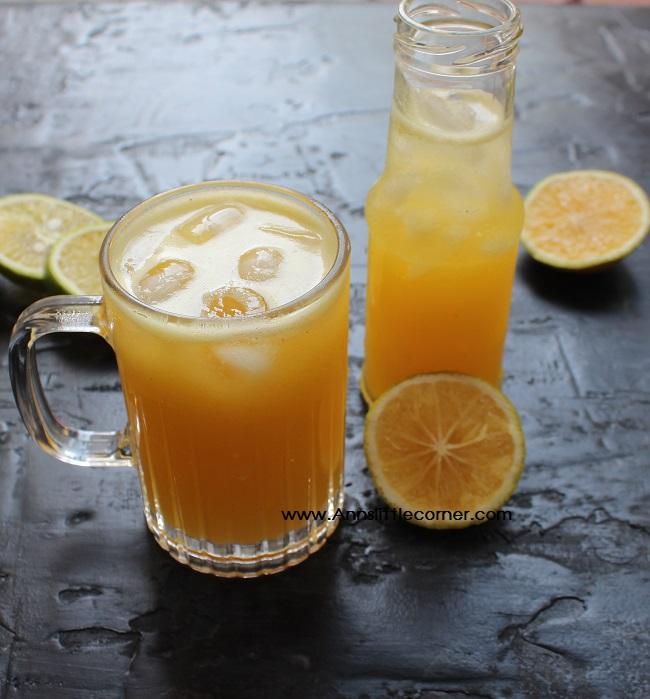Pineapple Sweet Lime Juice