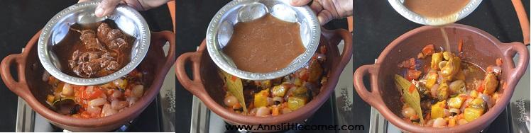 Karuvadu Palakottai Kuzhambu / Dry Fish JackFruit Seed Curry