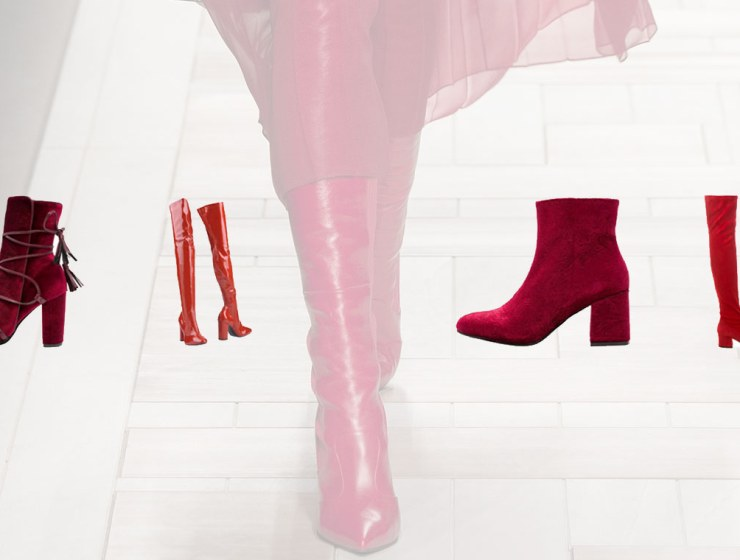 bottes rouges