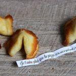 Fortune cookies avec des mots doux