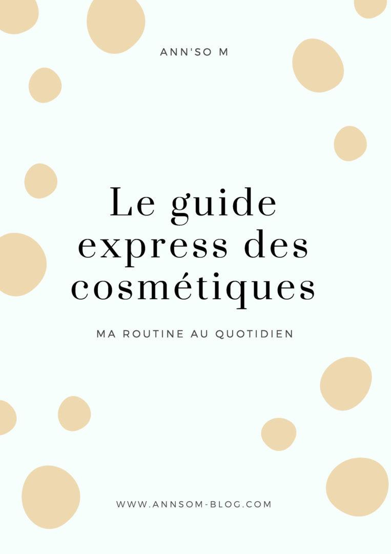 guide cosmétiques