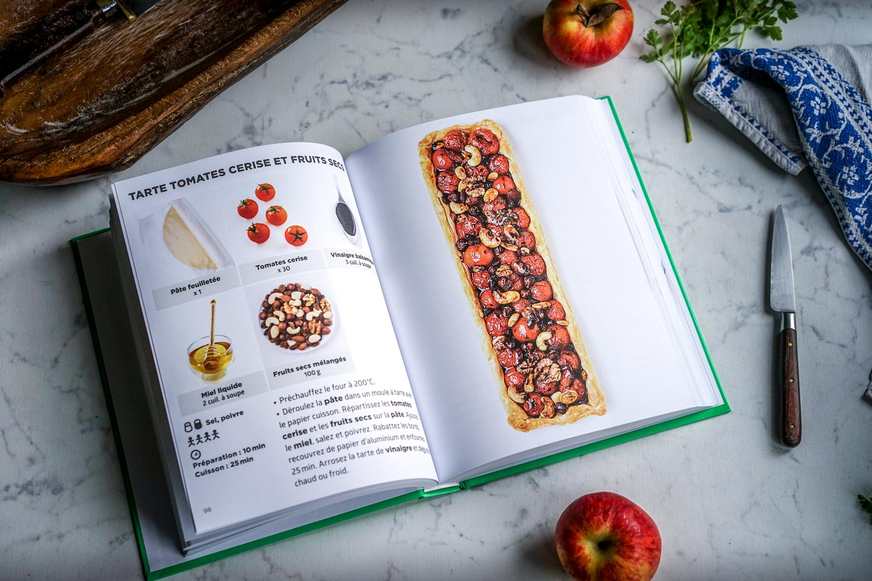 livre recettes végétariennes