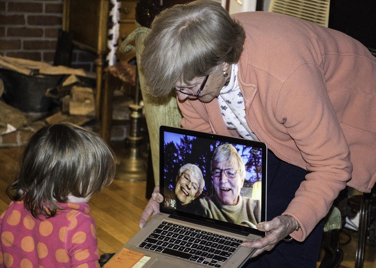 utiliser skype senior