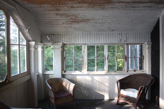 adirondack sleeping porch
