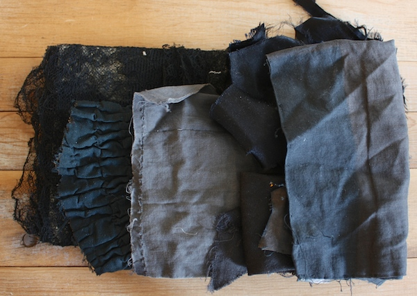 anrique garment fragments