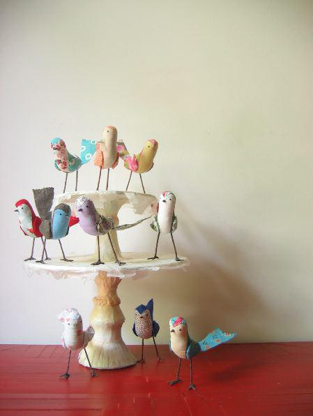 handmade birds