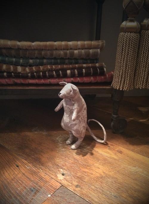 textile art rat