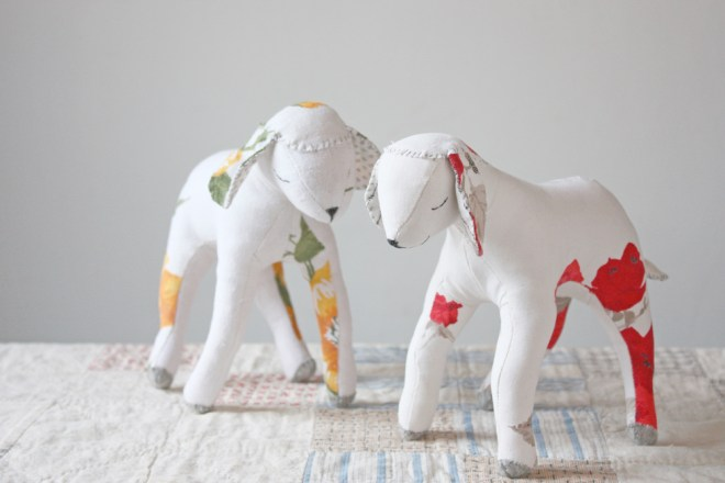 lamb and goat sewing pattern