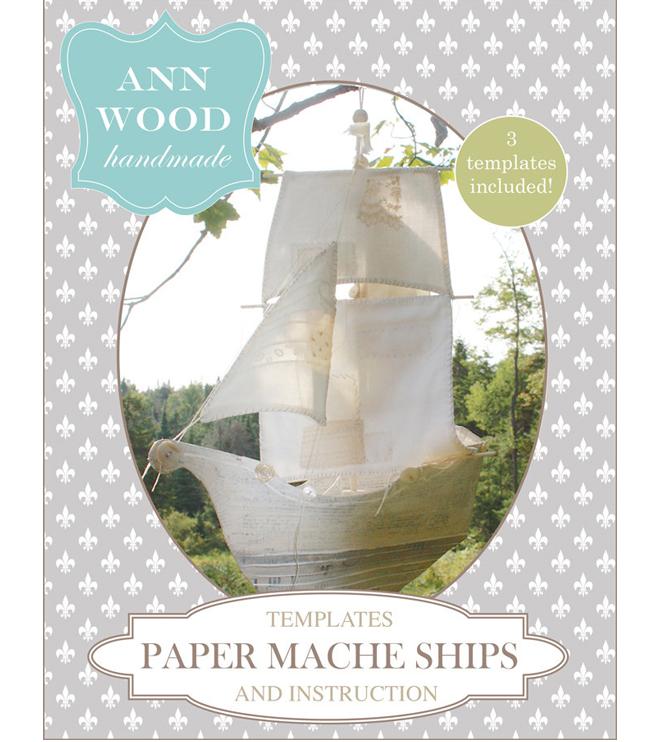 paper mache ships