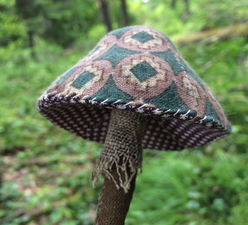 toadstool sewing pattern