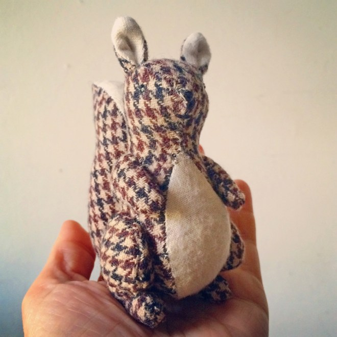 houndstooth squirrel