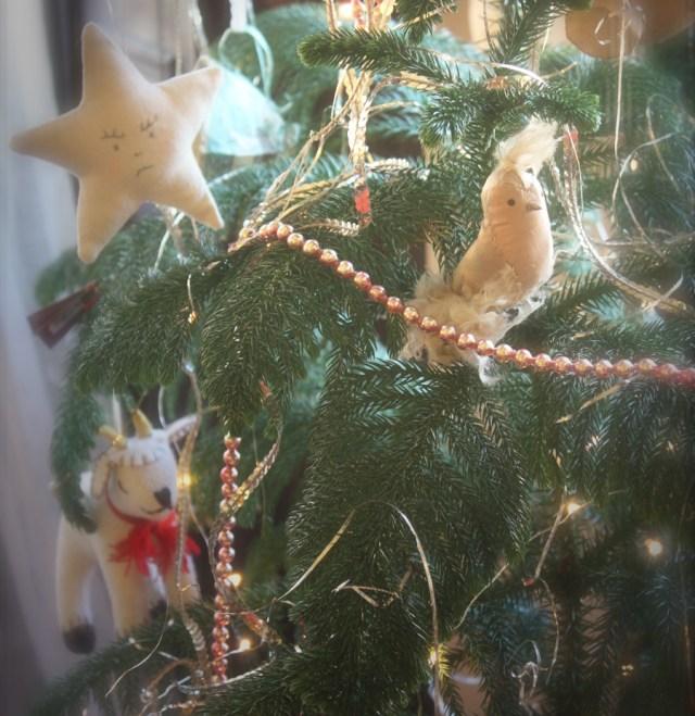 fancy bird ornament
