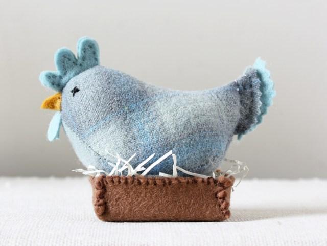 handmade blue hen
