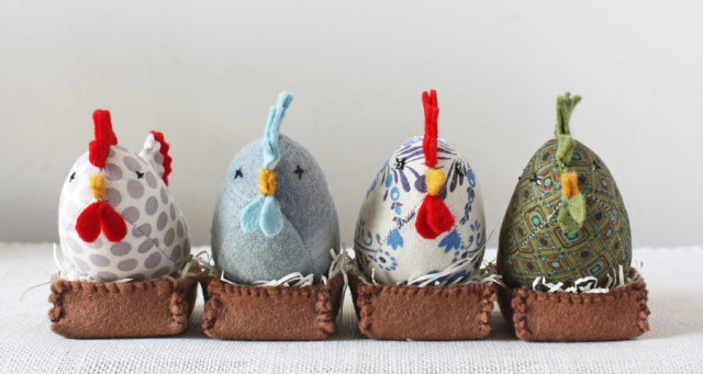 handmade french hens