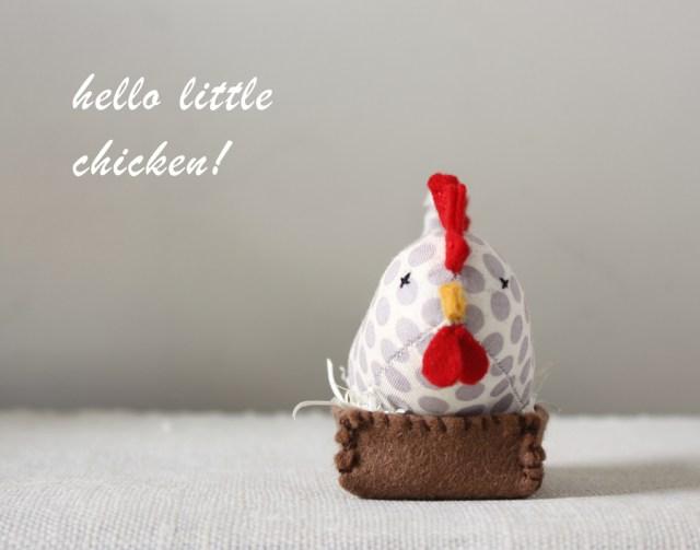 hello little chicken!