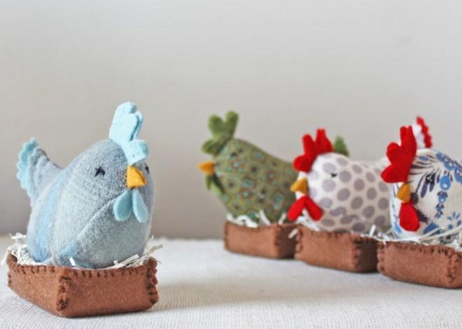 handmade hens
