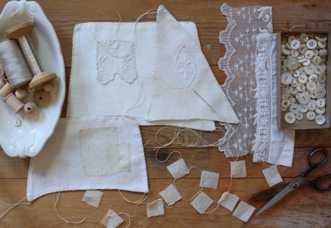 hand stitched sails