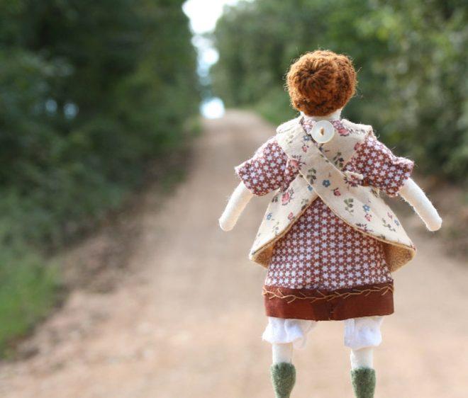 tiny rag doll by dawn