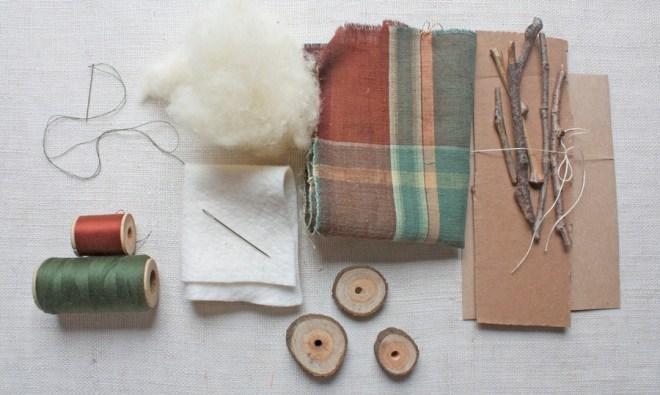 wobegone pines : materials