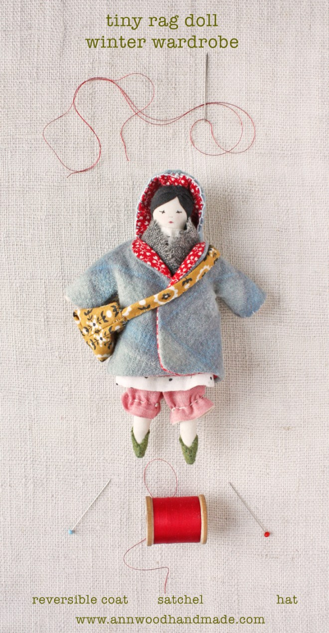 tiny doll : winter wardrobe