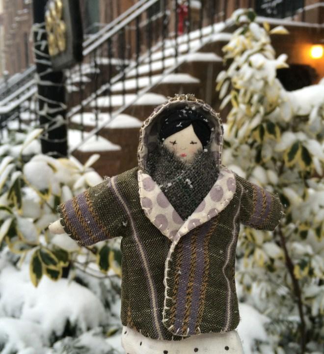 tiny doll : winter wardrobe