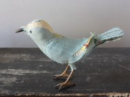pale blue songbird