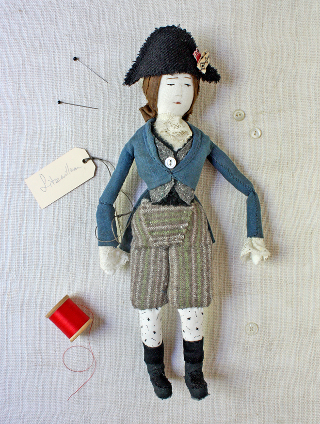 handmade soldier doll